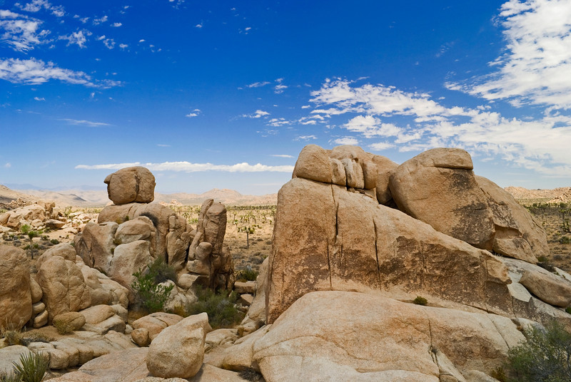 """""""Formation, Joshua Tree""""<br /> Rock formations in Joshua Tree National Park in Southern California."""