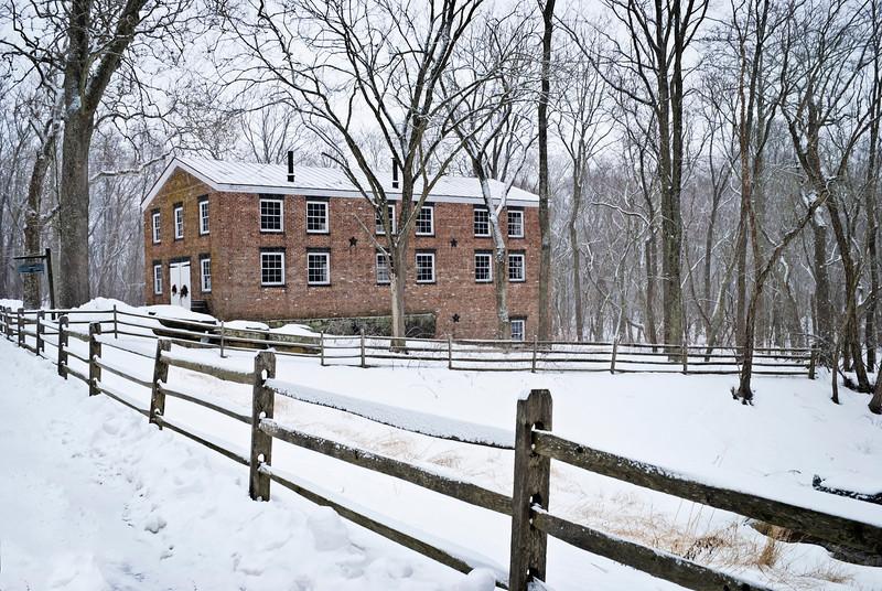 Historic Allaire Winter