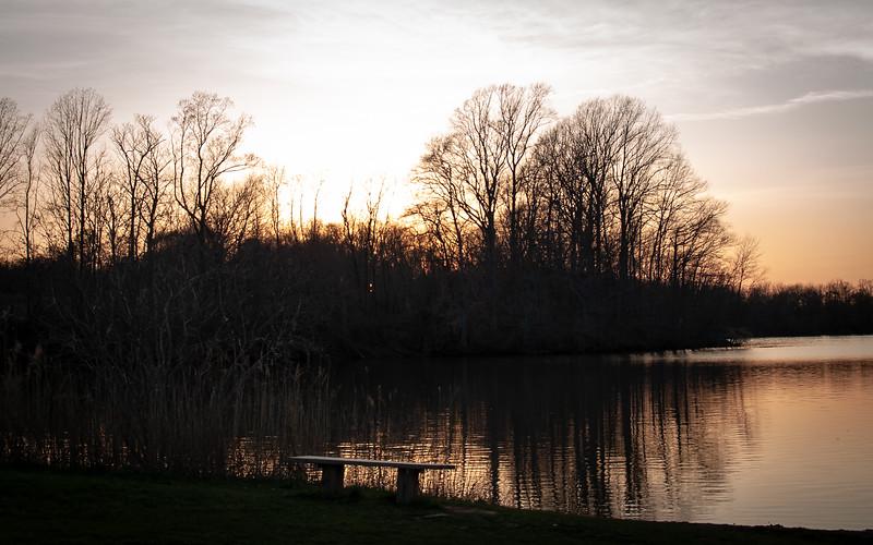 Marlu Lake Sunset
