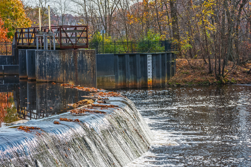 Rancocas Creek Waterfall