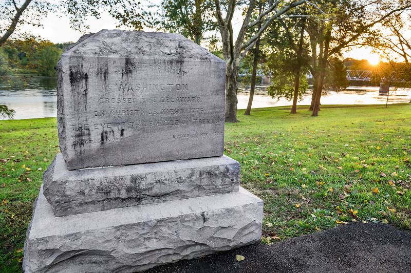 Wasington Crossing Monument