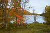 """""""Autumn Lake View""""<br /> An Autumn lake scene in Harriman State Park in New York State."""