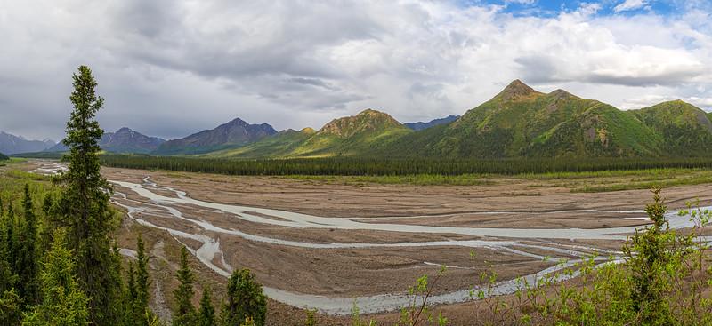 Riverbed Panorama