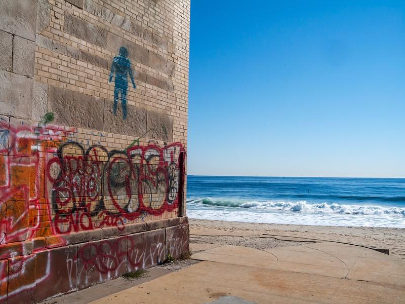 Graffiti by the Sea