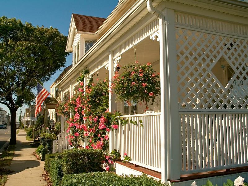 """American Street""<br /> A peaceful neighborhood in Ocean Grove New Jersey."
