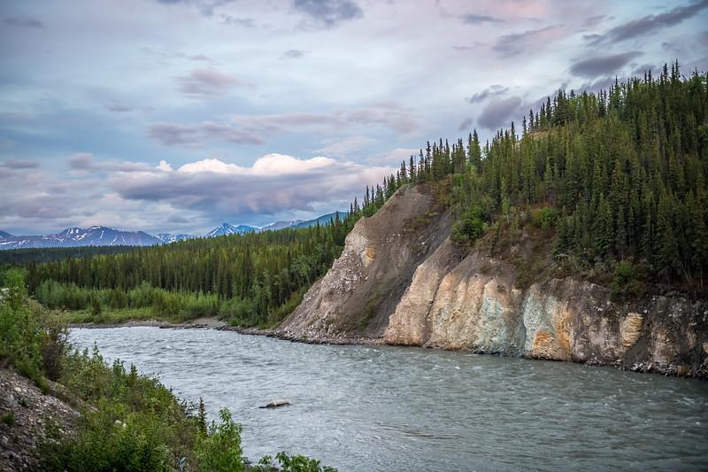 Nenana River Dusk