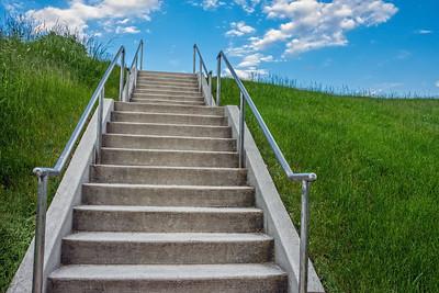 Summer Landscape Steps