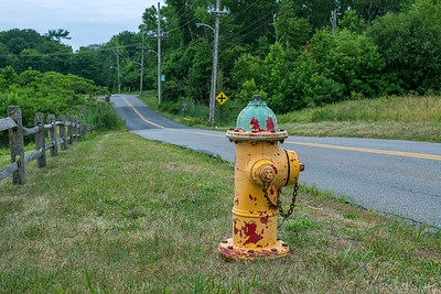 Old Yellow Hydrant