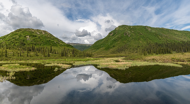 Mountain Pond Panorama