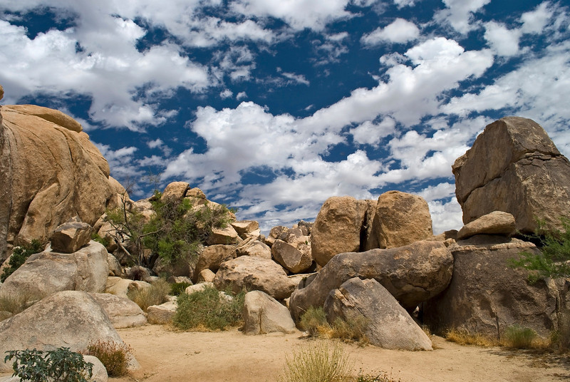"""""""Boulders Joshua Tree""""<br /> Large rock formations in Joshua Tree National Park in Southern California."""