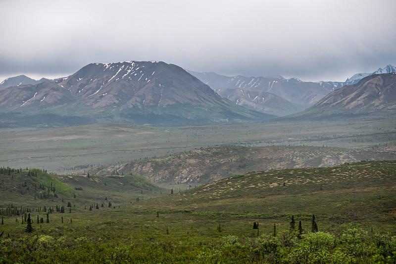 Vast Alaska Landscape