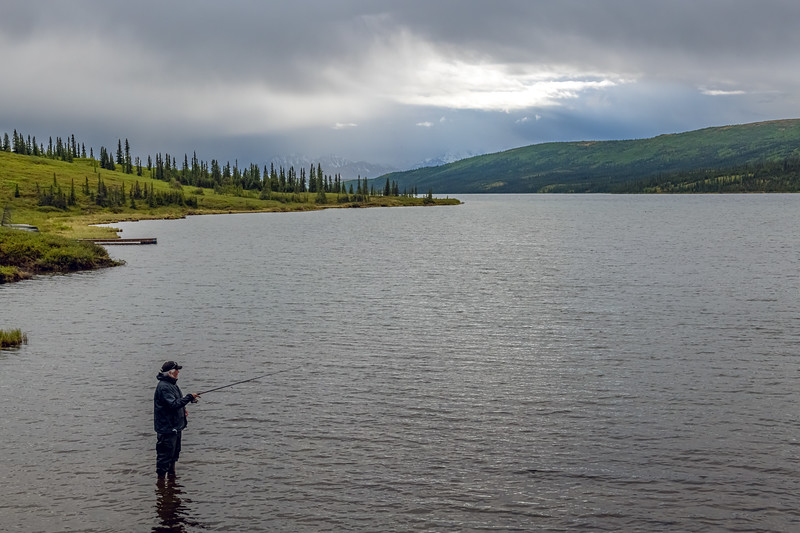 Fishing in Denali