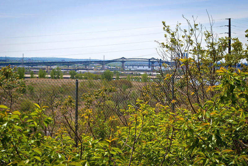 """""""Pulaski Skyway View""""<br /> A view of the Pulaski Skyway which leads into Jersey City as seen from the top of Snake Hill in Secaucus."""
