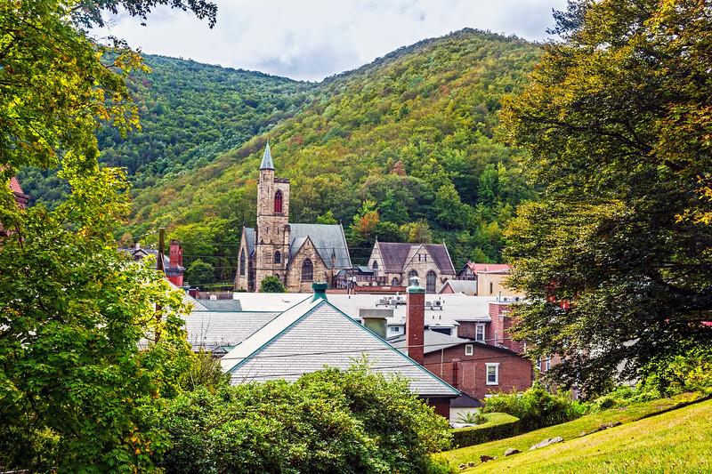 Scenic Jim Thorpe Pennsylvania