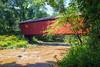 Covered Bridge and Stream