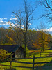 """Barnyard""<br /> A rural Autumn scene in the Pocono Mountains."
