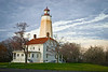"""Sandy Hook Lighthouse""  The historic Sandy Hook Lighthouse in Monmouth County along the Jersey Shore."