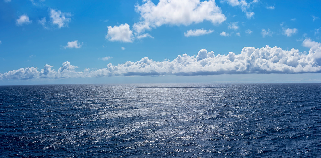 Deep Blue Sea Panorama