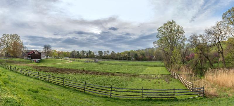 Historic Farm Panorama