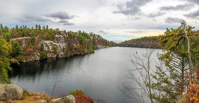 Lake Minnewaska Panorama