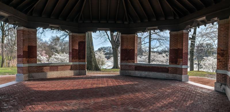 Spring Gazebo Panorama