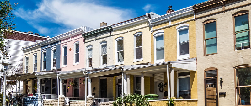 Row Homes Panorama