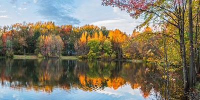 Holiday Lake Panorama