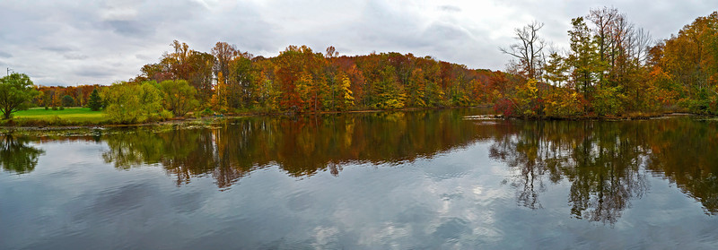 Davidson's Mill Park Pond Panorama