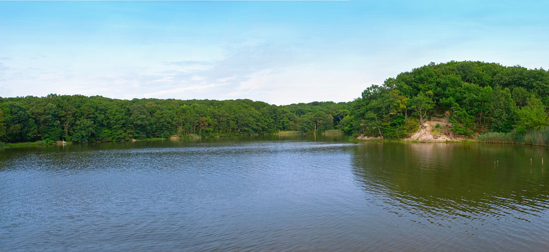 """Hooks Creek Lake Panorama"""