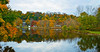 """Raritan River Panorama""<br /> <br /> A panoramic Autumn scene along the Raritan River in Clinton Township, New Jersey."