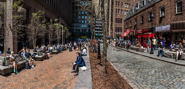 Lunch Hour Panorama
