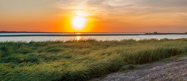 Sandy Hook Bay Panorama
