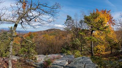 Mountaintop Fall Panorama