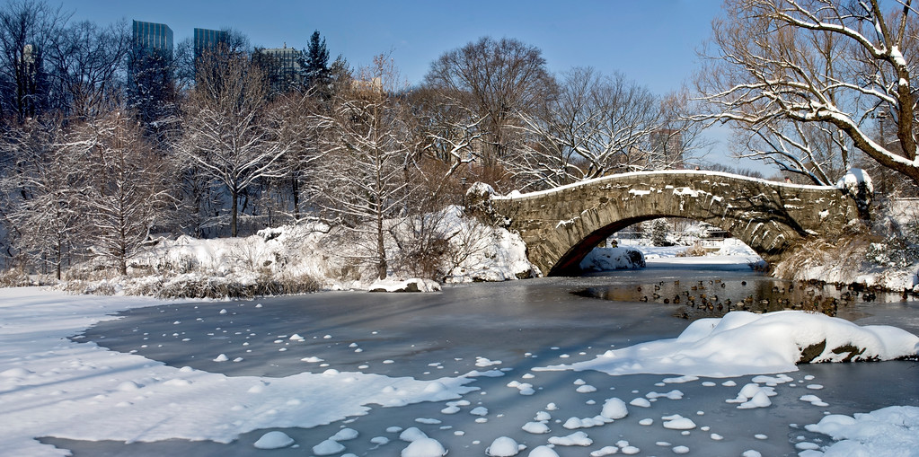 Snow Bridge and Ice