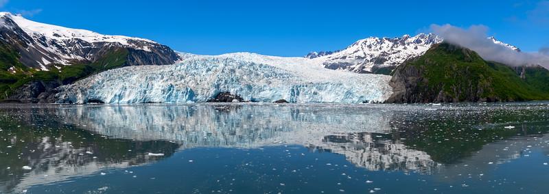 Aialik Glacier Panorama