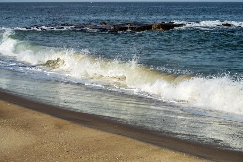 Wave Along Shoreline