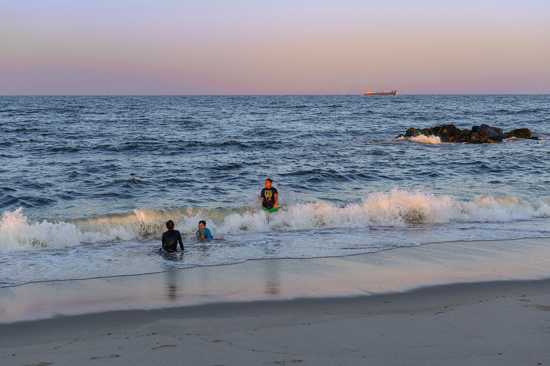 Beach Frolicking