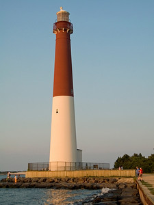"""Barnegat Lighthouse"" The Barnegat Lighthouse on Long Beach Island along the Jersey Shore."