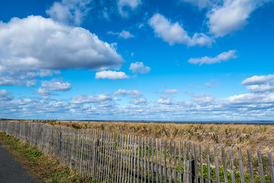 Clouds and Fence