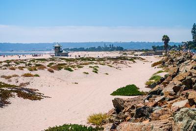 Rocky Coastline San Diego