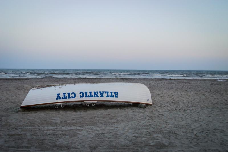 Gray Day Atlantic City