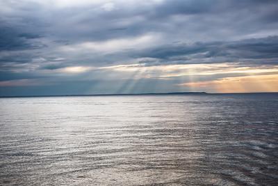 Rays at Sea