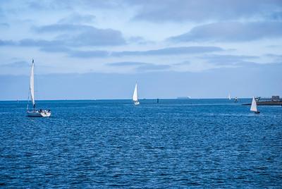 Sailing San Diego Harbor
