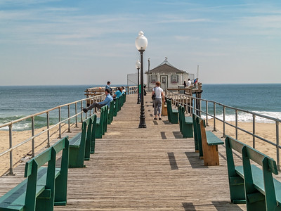 The Old Ocean Grove Fishing Pier