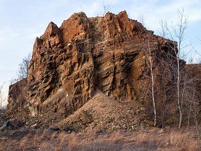 Rock Formation Snake Hill