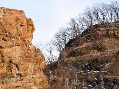 Face of Snake Hill
