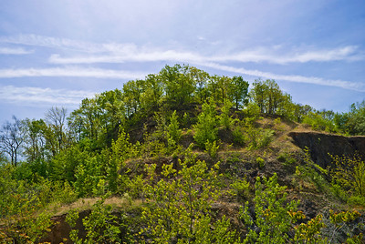 """""""Snake Hill Top"""" The 150' tall peak of Snake Hill, also known as Laurel Hill in Secaucus, New Jersey."""