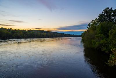 Dawn on the Delaware