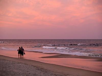 Sunrise Sunset Stock Images