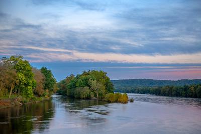 Delaware River Morning